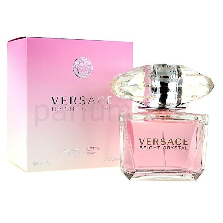Versace Bright Crystal, toaletní voda pro ženy 90 ml | parfums.cz