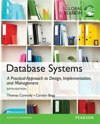 This book is ideal for a one- or two-term course in database management or database design in an undergraduate or graduate level course. With its comprehensive coverage, this book can also be used as a reference for IT professionals. This best-selling text introduces the theory behind databases in a concise yet comprehensive manner, providing database design methodology that can be used by both technical and non-technical readers. The methodology for relational Database Management Systems is…
