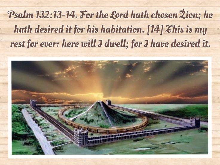Psalm 132 v 13-14