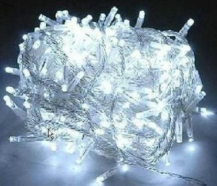 100 led 10m christmas wedding white color fairy string lights w 8 function controller - 100 Led Christmas Lights