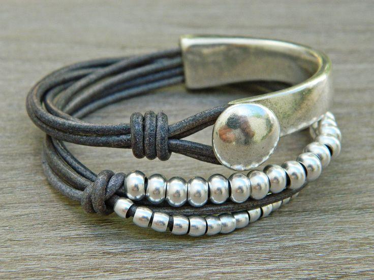 Bracelets for womenwrap boho braceletwrap braceletleather   Etsy