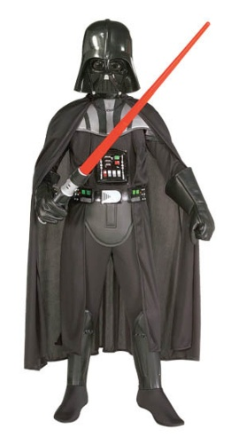 Child Darth Vader Costume, trying to copy this... Yay!