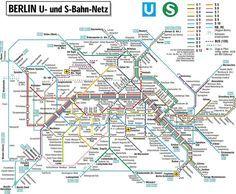 Berlin S-Bahn U-Bahn map