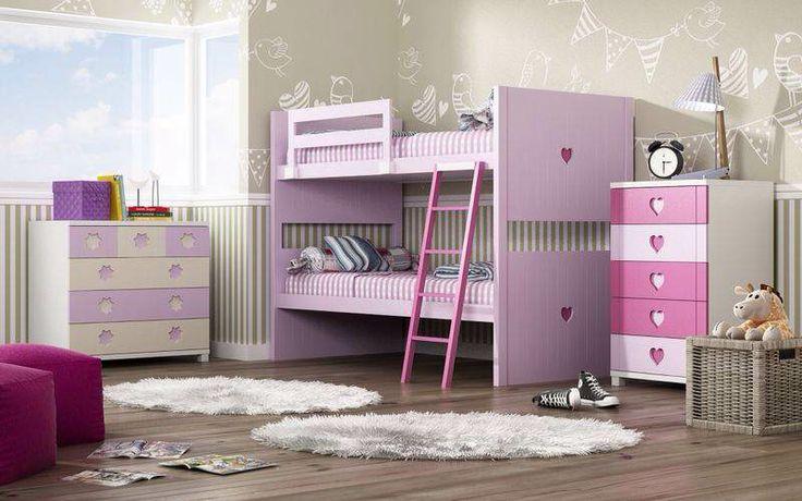 Una manera de aprovechar el espacio. Mueble en DM lacado, con posibilidad de hacer medidas especiales y asi ajustarnos a todo tipo de habitaciones.