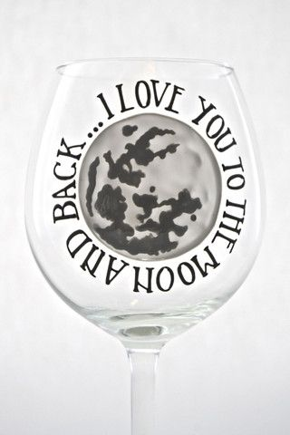 Toasted Glass - Moon and Back Goblet