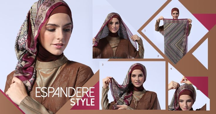 Hijab Style: Espandere Style «  Shafira - Gaya Islami | Trend Busana Muslim Modern, Busana Muslimah terkini, Sarimbit, Dress Muslimah Terbar...