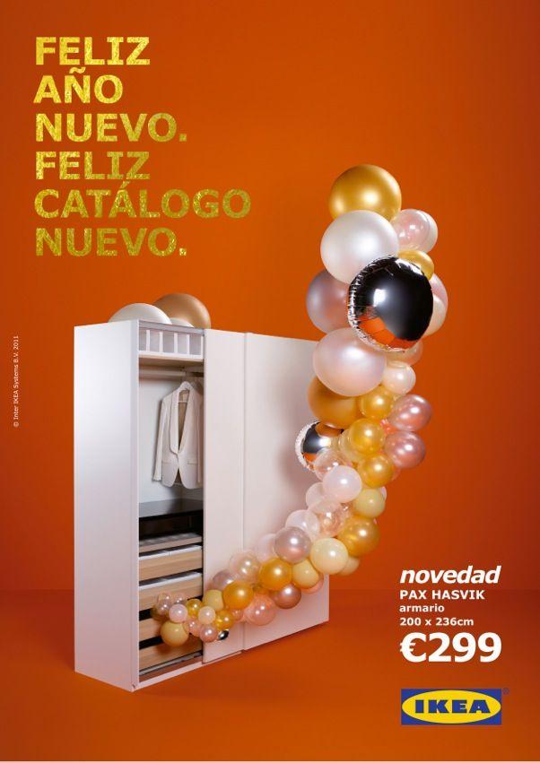 IKEA. Feliz Año Nuevo. Feliz Catálogo Nuevo /// See more: http://undiaenlacasadecarlitosypatricia.blogspot.com.es/2011/09/el-proyecto-ikea-feliz-ano-nuevo-feliz.html