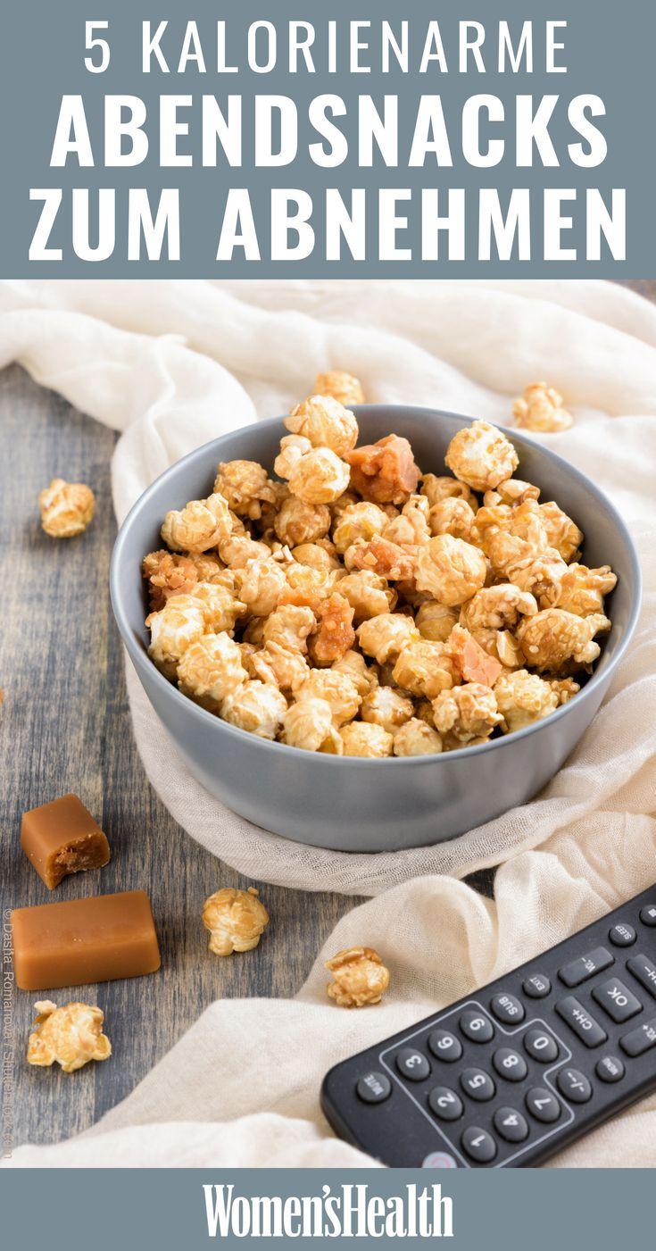 5 gesunde TV-Snacks, die sogar beim Abnehmen helfen