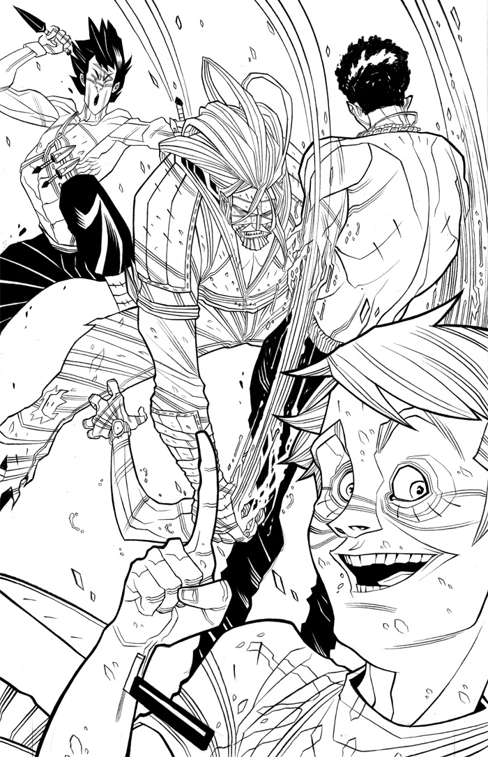 Trad Moore art from Luther Strode.