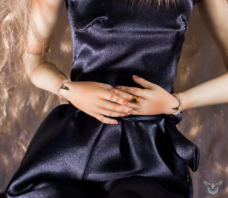 Arietida porcelain ball jointed doll  BJD Dark blue Jumpsuit InspireDoll by I'M SKVO https://www.facebook.com/inspiredoll
