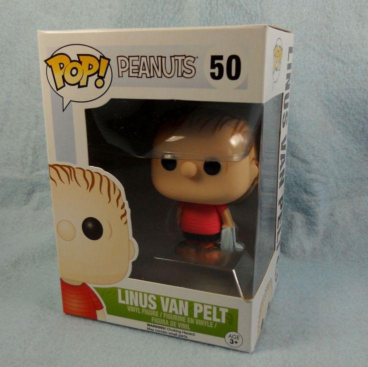 Linus Van Pelt Funko POP! Peanuts Gang #50 Vinyl Figure #FUNKO #Peanuts #Linus #CharlieBrown