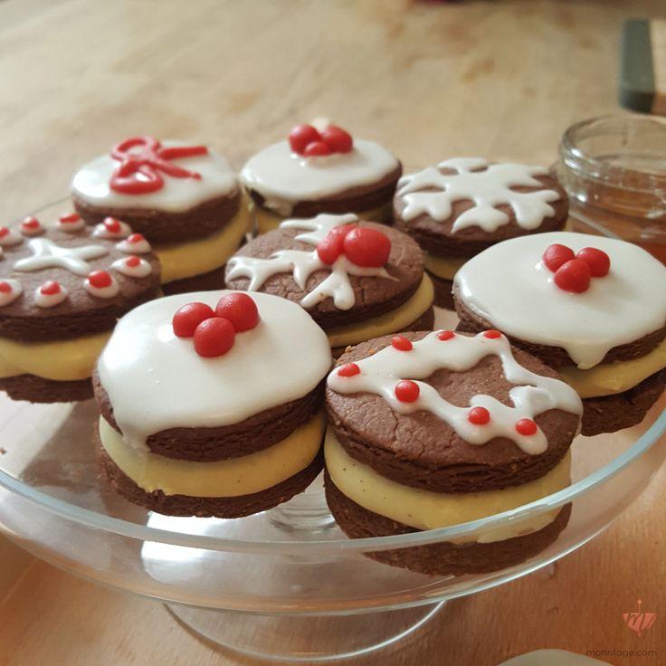Lebkuchen Sandwich Cookies für die Sendung #zdf #drehscheibe