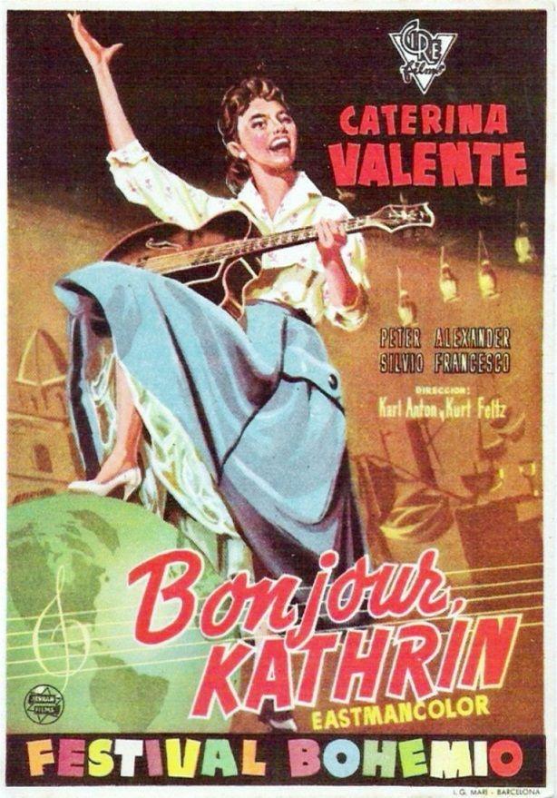 """Bonjour, Kathrin (1956) """"Bonjour Kathrin"""" de Karl Anton - tt0049024"""