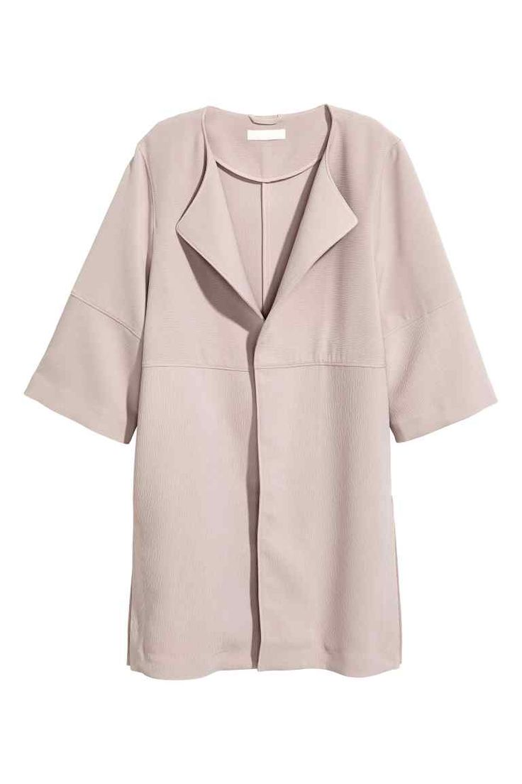 Abrigo corto - Lila apagado claro 39,99 > 19,99 EUR | H&M