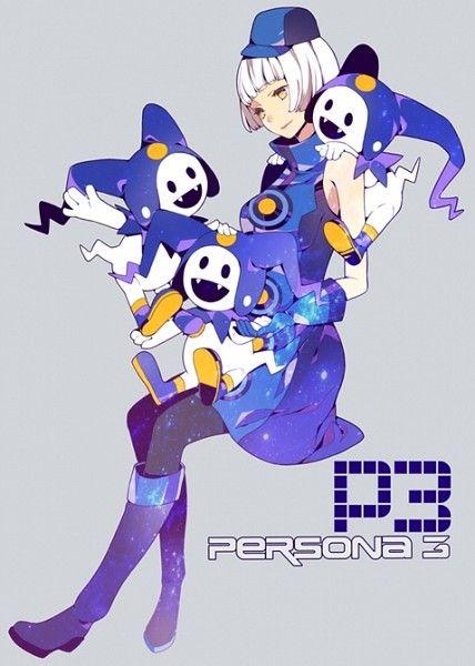 Tags: Fanart, Shin Megami Tensei: PERSONA 3, Jack Frost (Shin Megami Tensei), Elizabeth (PERSONA 3)