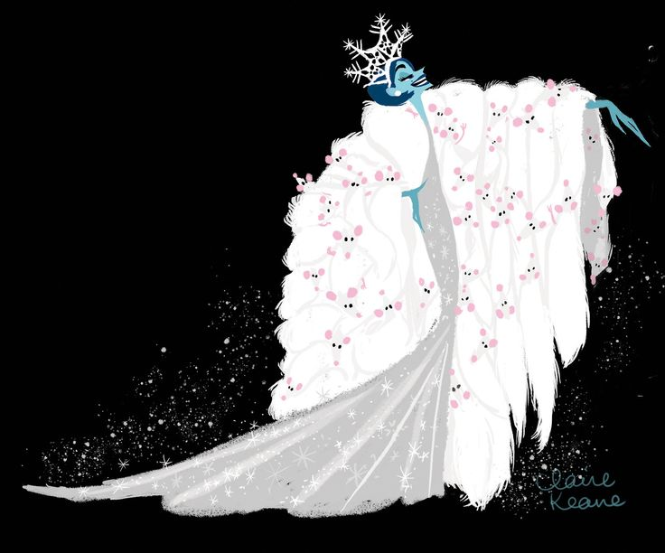 Claire Keane — My designs for a previous version of Frozen's snow...