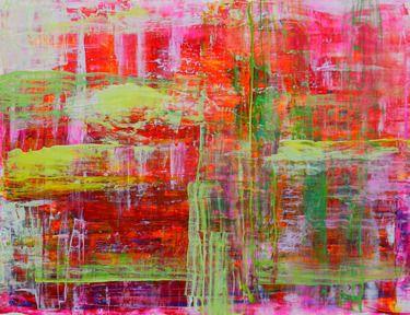 Aida Markiw; Acrylic, 2012, Painting Raspberry Field
