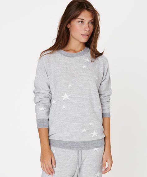 Star pattern jersey - OYSHO