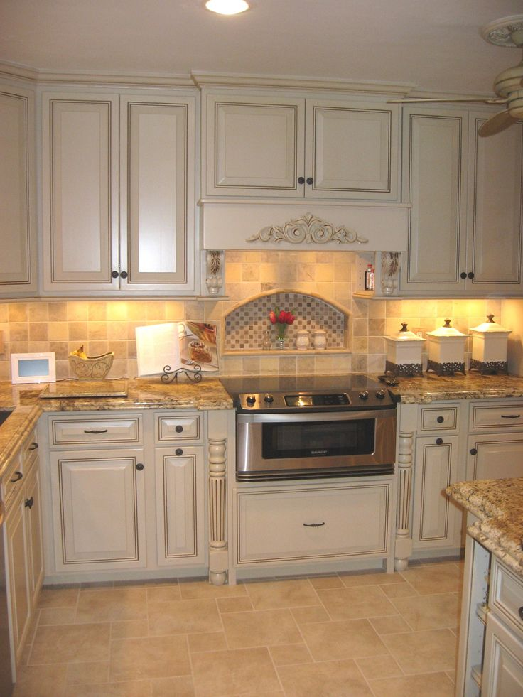 Kitchen Remodel With Custom Built Cabinets Granite