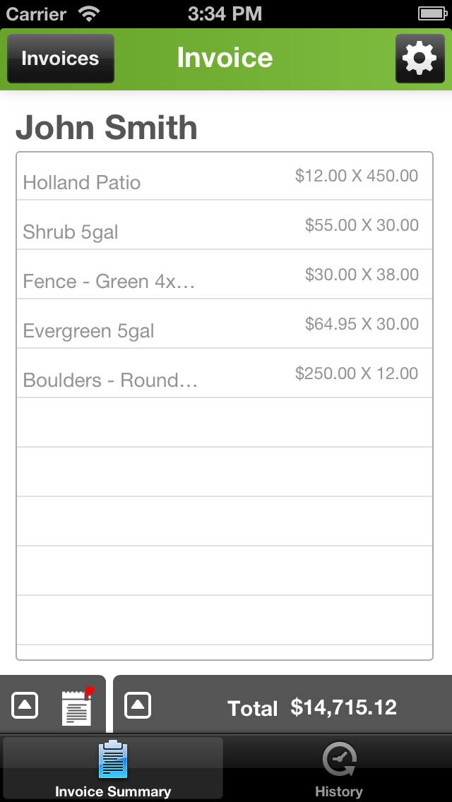 Manage your invoices in the palm of your hand. Joist