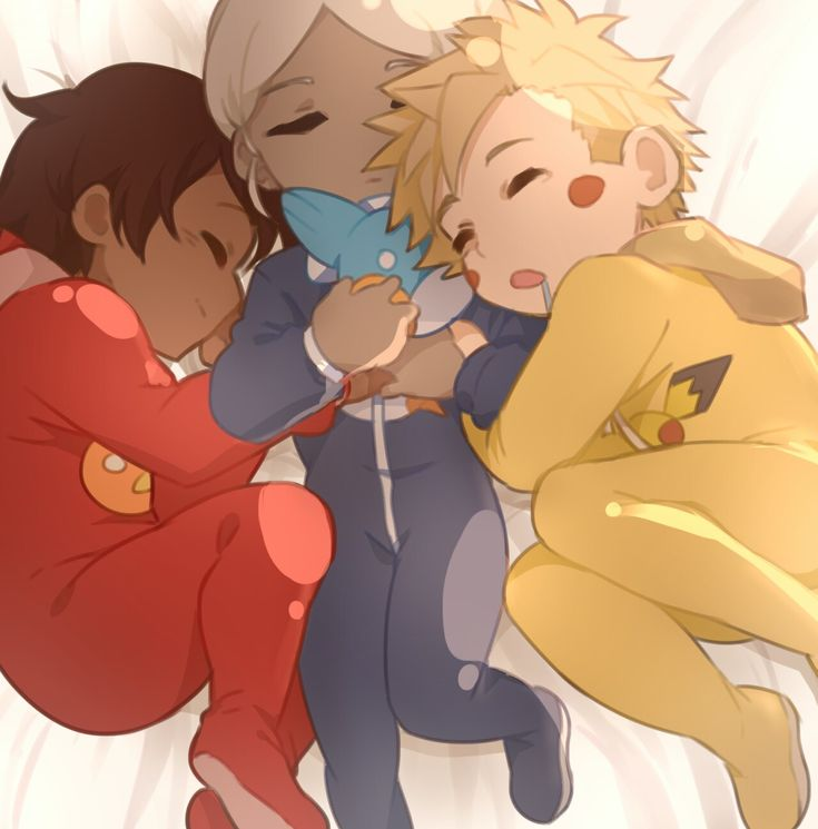 Baby Spark, Blanche and Candela