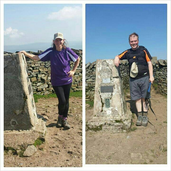 Y3P - at the top of Whernside