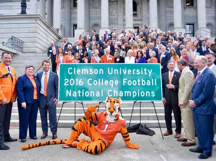 2016 National Championship Tigers go to D.C.