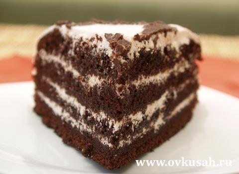 Шоколадный торт рецепт распечатать
