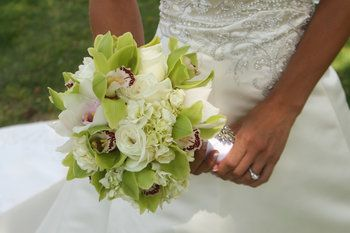 Wedding, Flowers, Reception, Pink, White, Green, Ceremony, Red