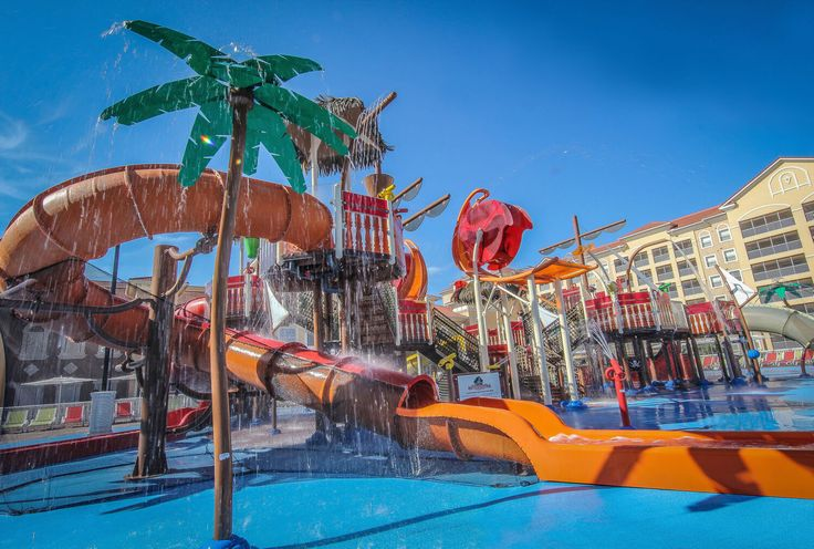 Waterparks in Orlando - Ship Wreck Island at Westgate Town Center