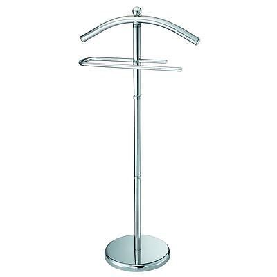 Free #standing chrome #modern suit dress clothes #valet #stand rail organiser hold,  View more on the LINK: 	http://www.zeppy.io/product/gb/2/232115693864/