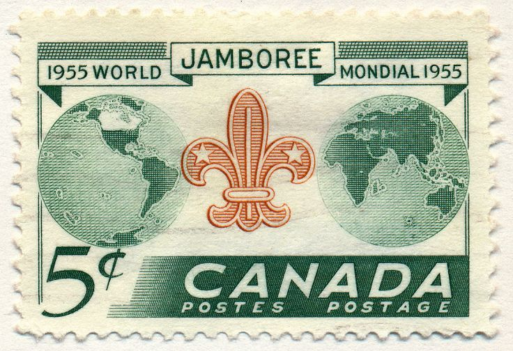World Scout Jamboree (issued 1955)