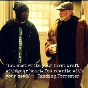 Meme - Finding Forrester with quote