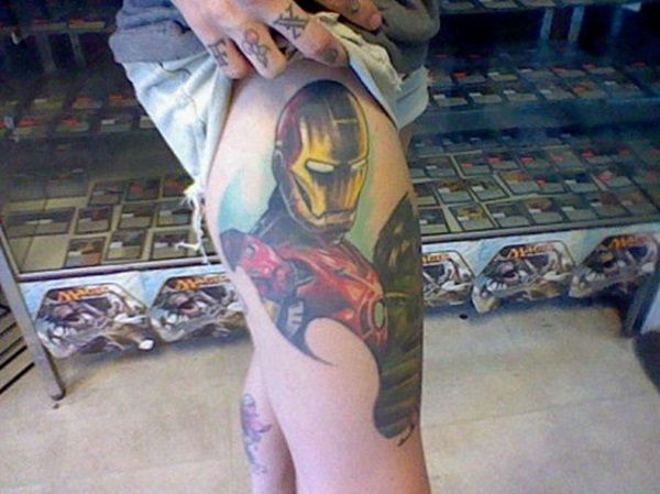 50 Best Ironman Tattoos Designs and Ideas