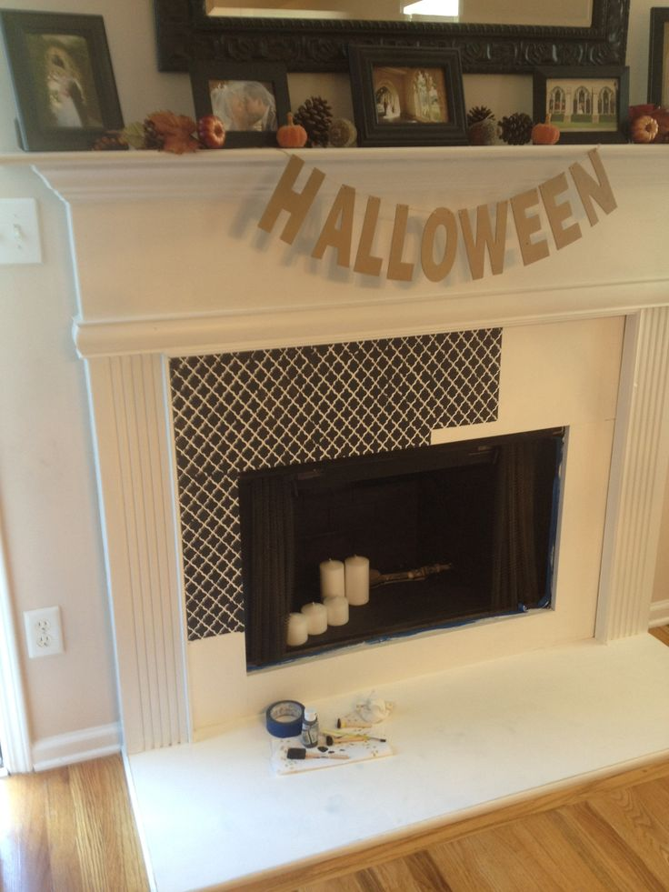 Anne Sloan Chalk Paint And Stenciling Over Marble
