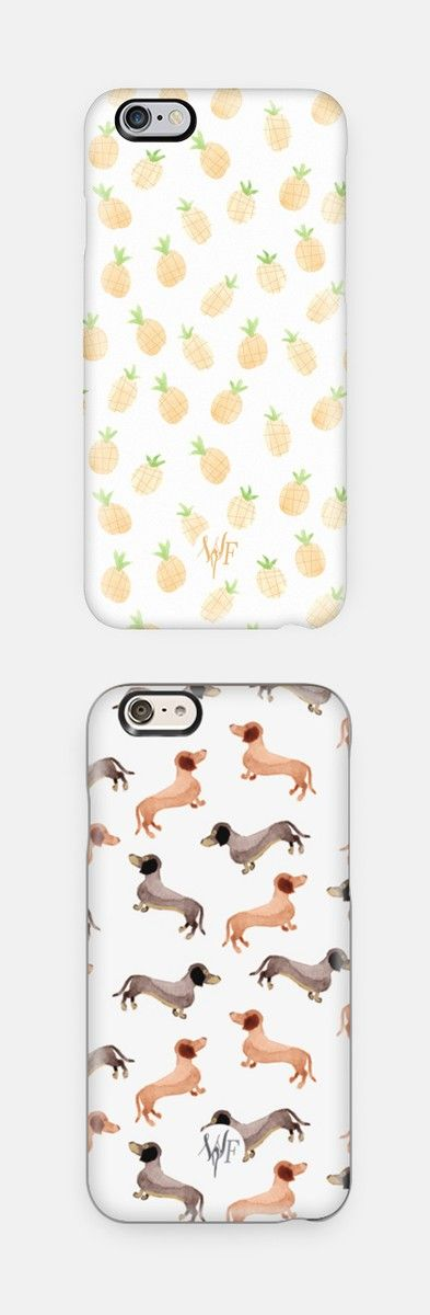 Cute phone cases! Available for iPhone 6, iPhone 6 Plus, iPhone 5/5s, Samsung Cases and many more. Perfect Christmas gift idea