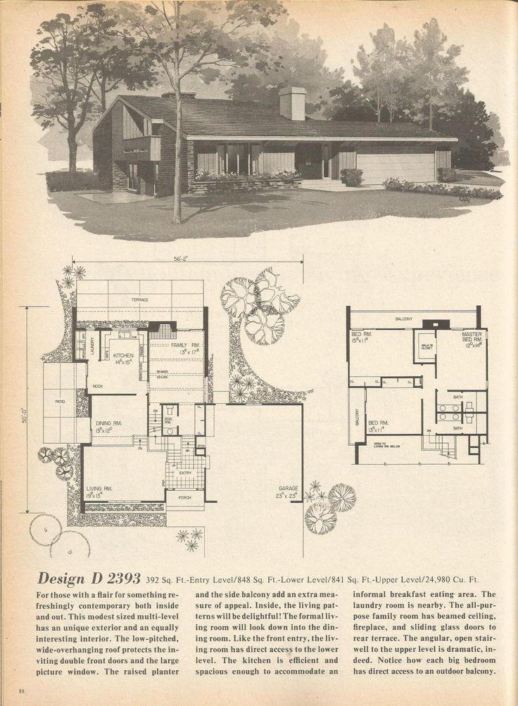 Vintage house plans mid century homes vintage house for Century homes floor plans