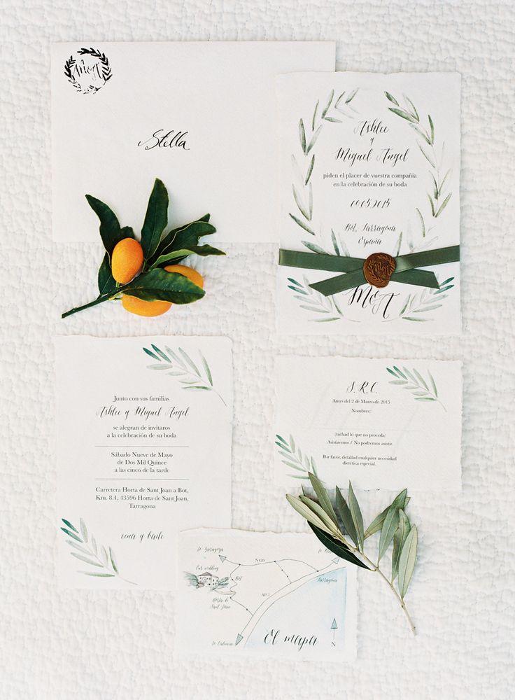 Gorgeous wedding stationery