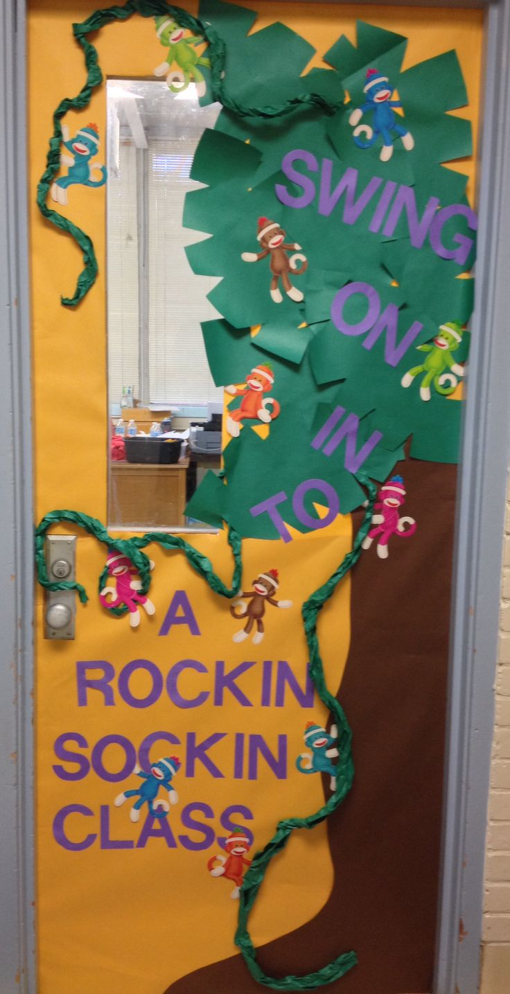 Classroom Decoration Jungle Theme ~ Best images about sock monkey classroom on pinterest