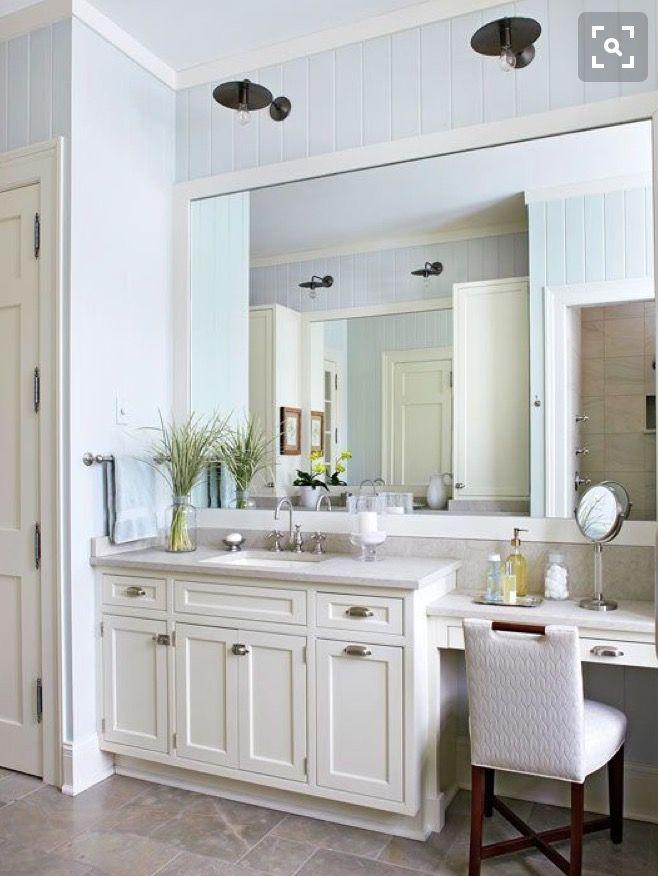 Closet vanity sink