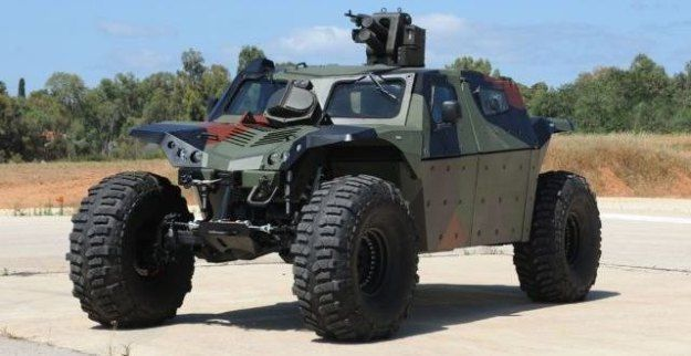 CombatGuard – go-anywhere 4×4 armored vehicle