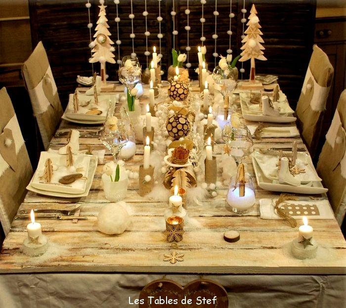 Deco De Table De Noel