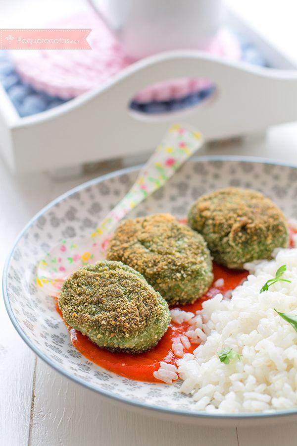 Albóndigas de espinacas, receta fácil con verduras