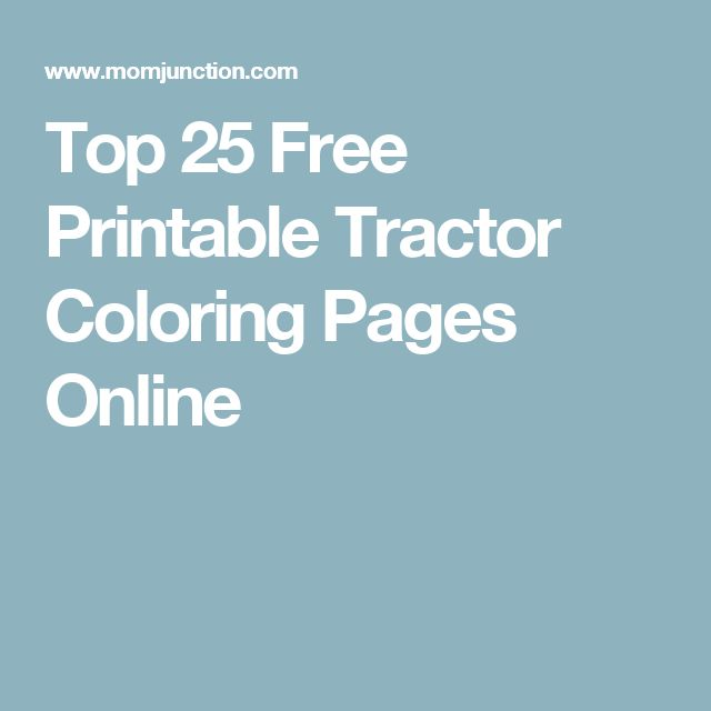 Best 25 Tractor coloring pages ideas only on Pinterest Tractors
