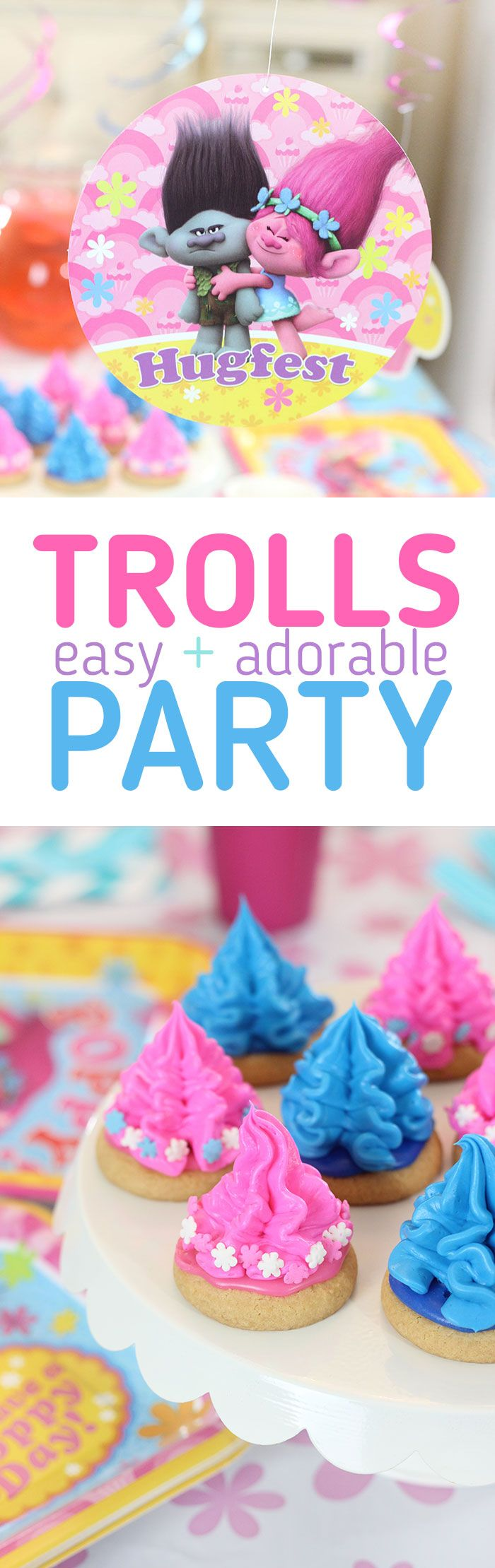 Trolls Party Ideas & Supplies. Throw the most adorable party with little effort with this tips with American Greetings Trolls party supplies available at Target. #ad