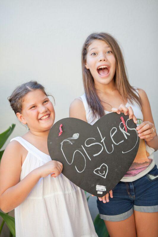 Beautiful sisters...