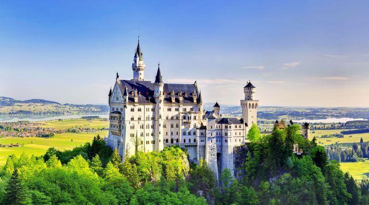 Slot Neuschwanstein in Duitsland. Bekijk hier een overzicht van de mooiste kastelen van Duitsland!