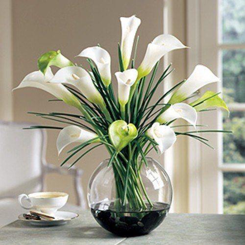 Las 25 mejores ideas sobre flores artificiales en - Decorar con flores artificiales ...