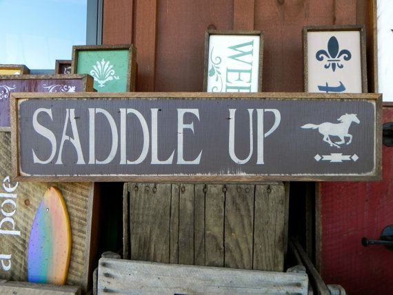 Wall Decor, Wood Sign, Hand Painted Wooden Sign, Barn Sign, Stenciled Outdoor Sign, Home Decor, Housewares, Rustic Wood Sign, Horse, Chevron