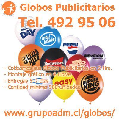 Globos Publicitarios para eventos corporativos